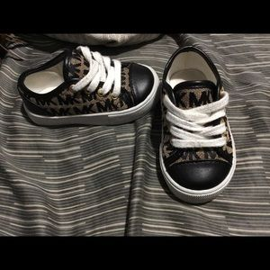 MK baby sneakers